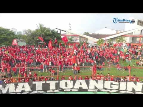 Suporter Girang, PSM Libas Persela Lamongan