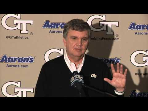 PAUL JOHNSON - Georgia Tech Coach Paul Johnson discusses Signing Day 2013. Full details on the class: http://www.ramblinwreck.com/sports/m-footbl/spec-rel/020613aaa.html.