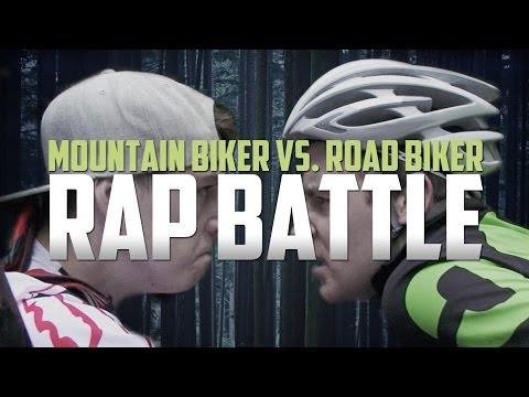 Rap Battle: Mountain Biker vs. Road Biker (видео)