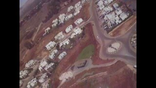 Maayan Baruch Israel  City new picture : Flight over Ma'ayan Baruch