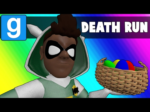 Gmod Deathrun Funny Moments - Easter Map! (Garry's Mod) (видео)