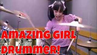 The Most Powerful Female  Drummer in the World! Teen Sensation Junna Japan Explosive Energy !