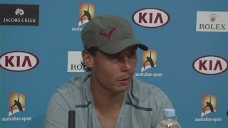 Tennis Highlights, Video - Wawrinka will be 'very, very tough' final - Nadal [AMBIENT]