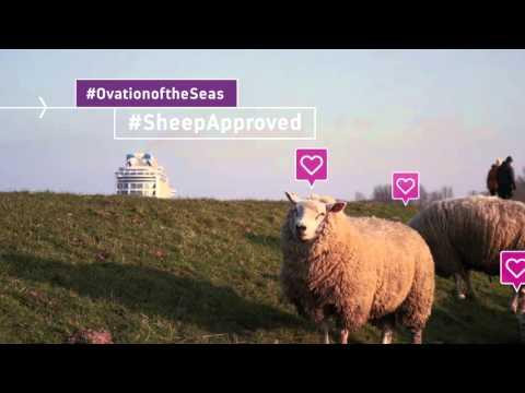 Ovation of the Seas sets sail