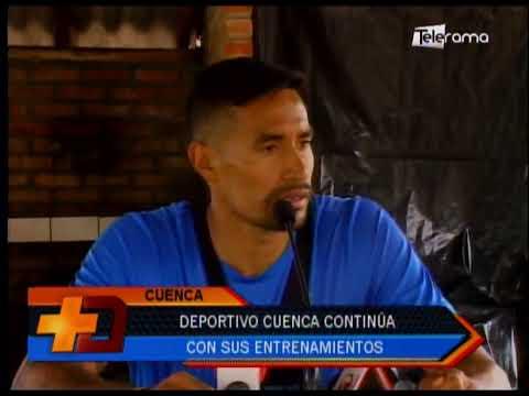 Deportivo Cuenca continúa con sus entrenamientos