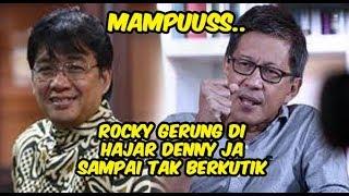 Video Mantap Denny JA Menghajar Habis  Rocky Gerung MP3, 3GP, MP4, WEBM, AVI, FLV Februari 2019