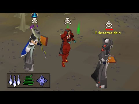 I baited the greedy PvPers at Ferox Enclave