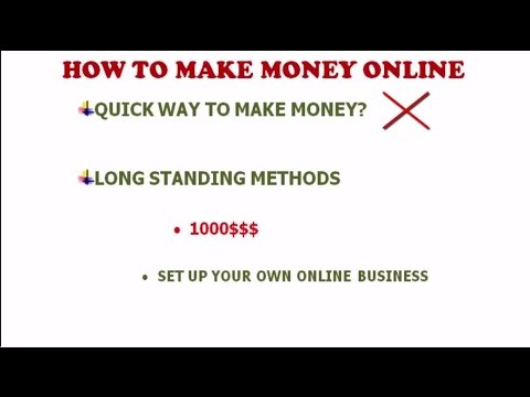 How To Make Money Online -Complete Guide [Top 5 Working Methods]