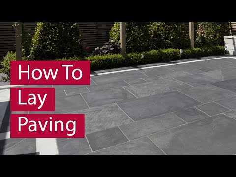 View How to Lay Paving video