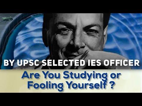 (By IES Officer) पढ़ते हैं या खुद को बेवकूफ बना रहे हैं? Understand better withThe Feynman Technique