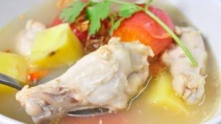[Thai Food] Soup Gai (Chicken Soup)