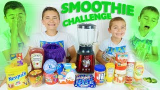 Video SMOOTHIE CHALLENGE entre Frères - Les Pires Smoothies !!! 🤢 MP3, 3GP, MP4, WEBM, AVI, FLV September 2017