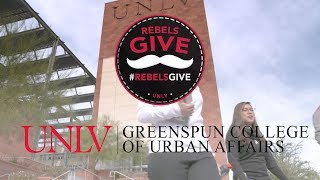 #RebelsGive: Support Students at the UNLV Greenspun College of Urban Affairs