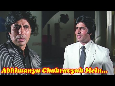 Abhimanyu Chakravyuh Mein - Amitabh Bachchan, Kishore Kumar, Inquilaab Song