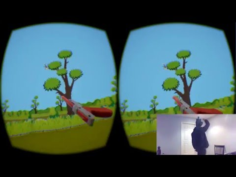 Nerd Makes Classic Nintendo Game Duck Hunt In Virtual