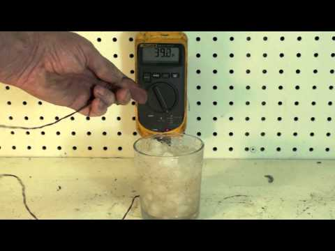 Check the calibration of your thermometer