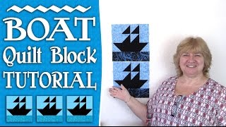 Quilting Blocks Tutorial: In this video, we show you how to put together a cute boat quilt block. This is really quite simple to create and would look great for a little boys quilt or for the boating enthusiast in your life.How to Square Up (Trim) a Half Square Triangle - https://youtu.be/eaFOk3ZKrQ0--FULL WRITTEN INSTRUCTIONS--http://www.alandacraft.com/quilt-block-boat-block-tutorial/---WATCH MORE QUILT BLOCK TUTORIALS HERE---https://www.youtube.com/playlist?list=PLMxvvtt3Z3CKZx04rEe8Vod1SP1EX767l---FOLLOW US ON---Website: http://www.alandacraft.comFacebook: http://www.facebook.com/alandacraftPinterest: http://www.pinterest.com/alandacraft/Instagram: http://instagram.com/alandacraftTwitter: http://twitter.com/AlandaCraftTumblr: http://www.tumblr.com/blog/alandacraft