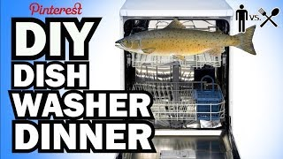 DIY DISHWASHER DINNER - Man Vs Din #2 by ThreadBanger