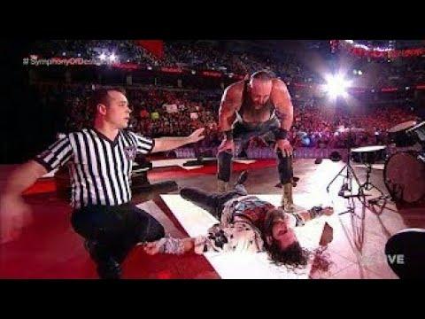 Braun Strowman Destroys Elias | WWE Raw 5 March 2018 Monday Night Raw 3/5/18