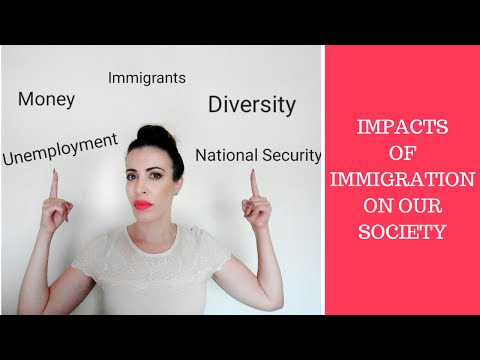 IMPACTS of IMMIGRATION on our society   EasyEducation