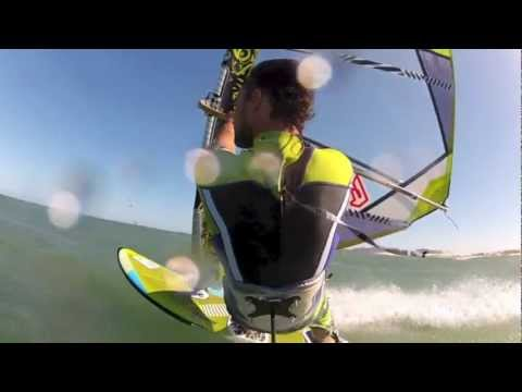 Windsurfing sessions Yann Rifflet