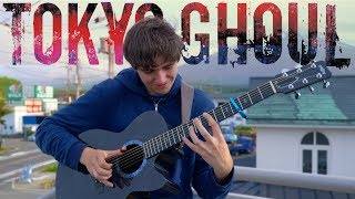Video Unravel - Tokyo Ghoul OP 1 [Full Version] Fingerstyle Guitar Cover MP3, 3GP, MP4, WEBM, AVI, FLV Juni 2018