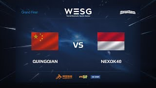 DawnQingqian (水清浅) vs nexok40, game 1