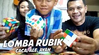 Video LOMBA RUBIK ALE, CACA & AYAH SERUU...!! MP3, 3GP, MP4, WEBM, AVI, FLV April 2019