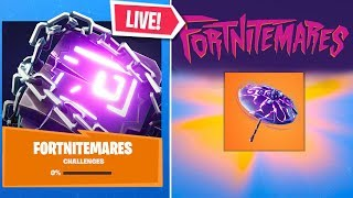 *NEW* Fortnite FORTNITEMARES UPDATE EVENT RIGHT NOW! FREE REWARDS (Fortnite Live Gameplay)
