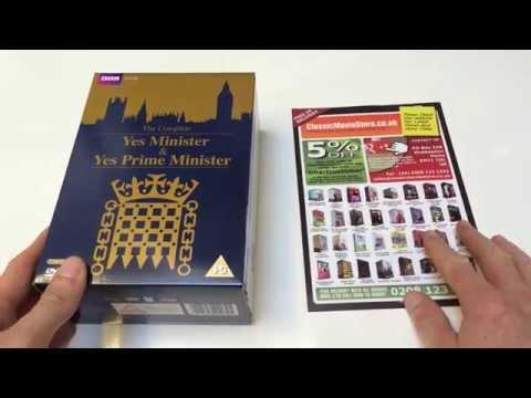 Yes Minister & Yes Prime Minister DVD set.