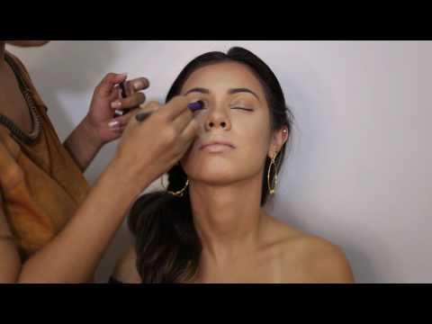 Maquiagem - Makeup Dourada - Making Off