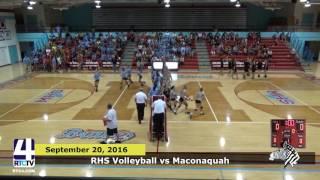 RHS Volleyball vs Maconaquah Braves