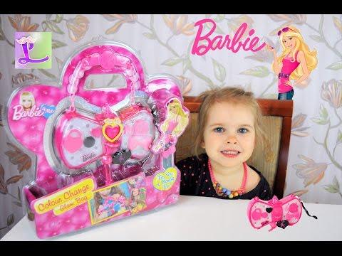 Волшебная сумочка Барби! Аксессуары для девочек! Barbie. видео