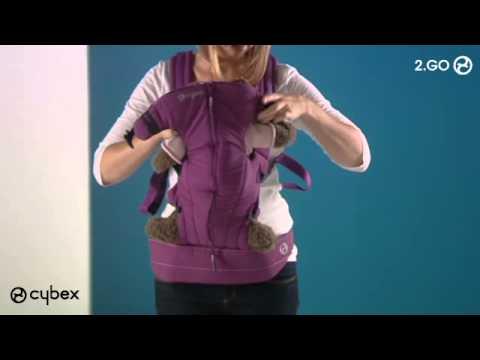 Рюкзак-кенгуру Cybex 2 Go Denim by Lala Berlin
