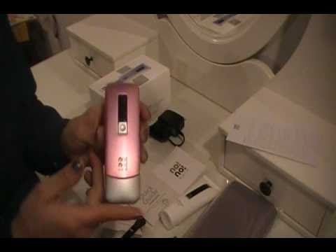 No! No! 8800 Hair Removal System Review and Initial setup