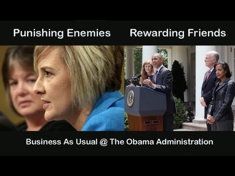 Roche Rants: IRS punishes Tea Party enemies. Obama rewards friend Susan Rice 4 Benghazi LIES!