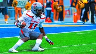 The Quickest Player in College Football    Texas Tech WR Jakeem Grant 2015 Highlights ᴴᴰ