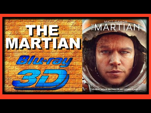 The Martian (2015 Movie) 3D Blu-ray Review
