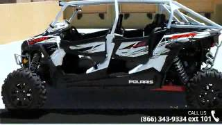 1. 2014 Polaris RZR XP 4 1000 EPS White Lightning  - RideNow...