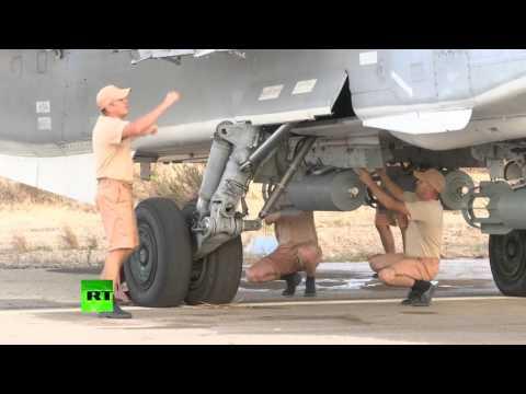 Опубликовано видео подготовки российской авиации