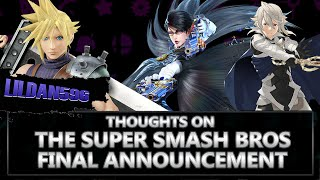 lildan596's thoughts on the Final smash bros announcement (part1) part 2 will be on the comments