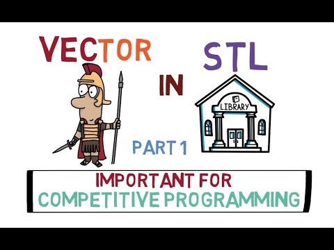 2-Vector in Standard  Template Library (Part 1)