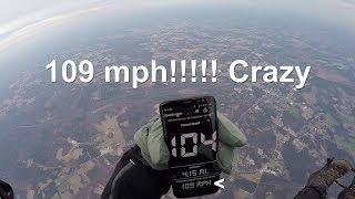 Video Flying 109 MPH on my Paramotor!! MP3, 3GP, MP4, WEBM, AVI, FLV Mei 2018