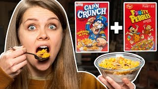 Video Crazy Cereal Combos Taste Test MP3, 3GP, MP4, WEBM, AVI, FLV Desember 2018