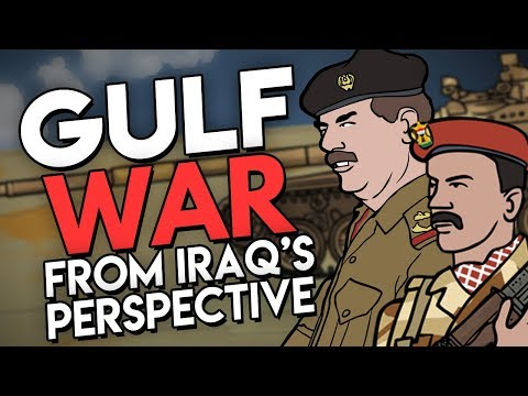 Gulf War from Iraq's Perspective (ft. EmperorTigerStar) | Animated History