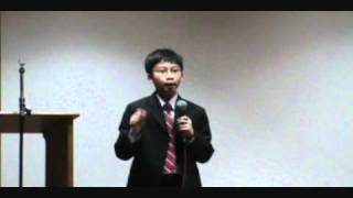 Education Inspirational Speech For Parents By Khang Tuong Nguyen (11yrs Old)
