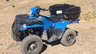 6. 2018 Polaris Sportsman 450 H.O. 6 Month Follow-up Review