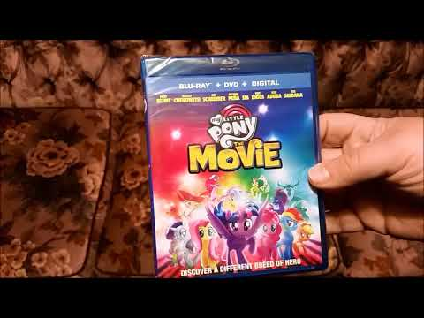 My Little Pony The Movie Blu Ray Unboxing