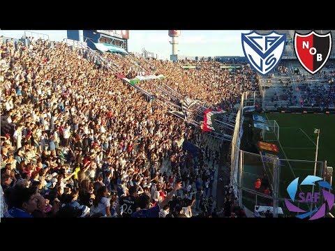 Hinchada Vélez vs Newell's | Gol y Jugadas | Superliga Argentina 2017/18 | Fecha 6 - La Pandilla de Liniers - Vélez Sarsfield