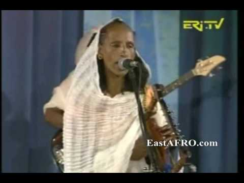 tegadelti - 2 More Songs - Tegadelti Women Band playing Krar, kobero, guitar from Asmara, Eritrea (Eritrea Music). Eritrea is located in E. Africa. (Africa Music)